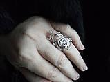 Кольцо Роза Стерлинговое серебро 925, фото 3