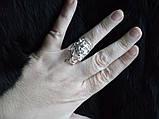 Кольцо Роза Стерлинговое серебро 925, фото 4