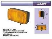 Фонарь дополн.освещения LA-201 Yellow (2шт)