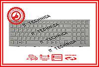 Клавиатура Sony Vaio VPC-EH Series белая с белой рамкой RU/US