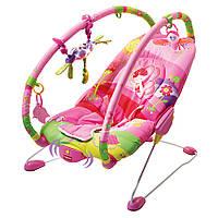 """Шезлонг c вибрацией для ребенка Tiny Love """"Маленькая принцесса"""""""