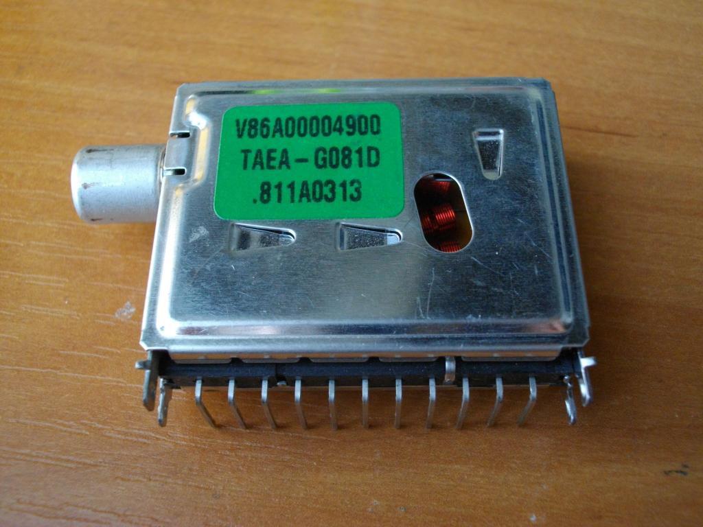 V86A00004900 TAEA-G081D тюнер, радіоканал.