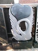 Лебедь из гранита ПГ - 102