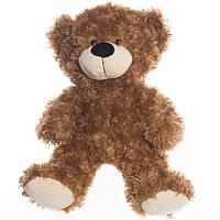 Детская мягкая игрушка, плюшевый мишка Ванюша, коричневый