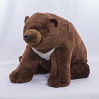 Детская мягкая игрушка, плюшевый мишка Братец, коричневый