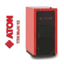 Твердопаливний котел Aton Multi 12 +регулятор тяги