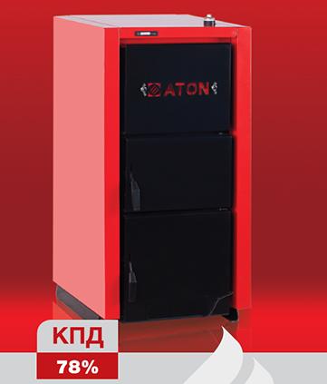 Твердотопливный котел ATON Multi 16 кВт + регулятор тяги