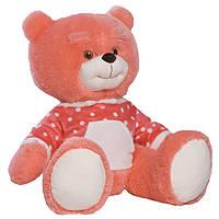 Детская мягкая игрушка, плюшевый мишка Топа,розовый