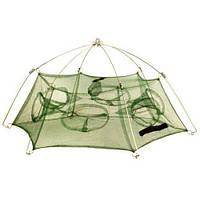 Ятерь рачница раколовка зонт 6 окон d85