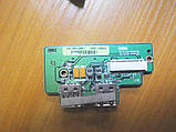 Плата з кнопками і USB портами Asus C90 C90S, фото 2
