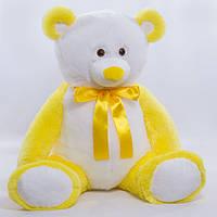Детская мягкая игрушка, плюшевый мишка Радуга,желтый