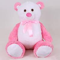 Детская мягкая игрушка, плюшевый мишка Радуга,розовый
