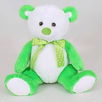 Детская мягкая игрушка, плюшевый мишка Радуга,зеленый