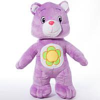 Детская мягкая игрушка, плюшевый мишка Весельчак,фиолетовый