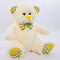 Детская мягкая игрушка, плюшевый мишка Лакомка,белый