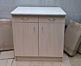 Кухонна стільниця 28мм (Мармур Карара), фото 2