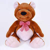 Детская мягкая игрушка, плюшевый мишка Максимельян,коричневый