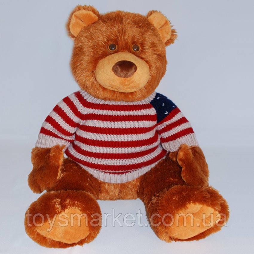 Детская мягкая игрушка, плюшевый мишка В свитере,коричневый