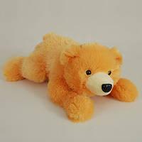 Детская мягкая игрушка, плюшевый мишка Сенди,оранжевый