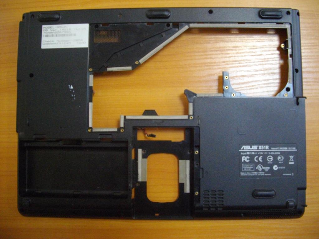 Нижняя часть корпуса Корпус Asus x51r