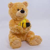Детская мягкая игрушка, плюшевый мишка Топтыжка,коричневый