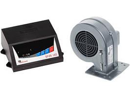 Автоматика для твердопаливних котлів KG ELEKTRONIK SP-05+вентилятор DP-02 (комплект)