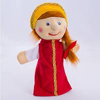 Детская мягкая игрушка,рукавичка,Василиса