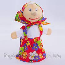 Детская мягкая игрушка,рукавичка,Бабушка