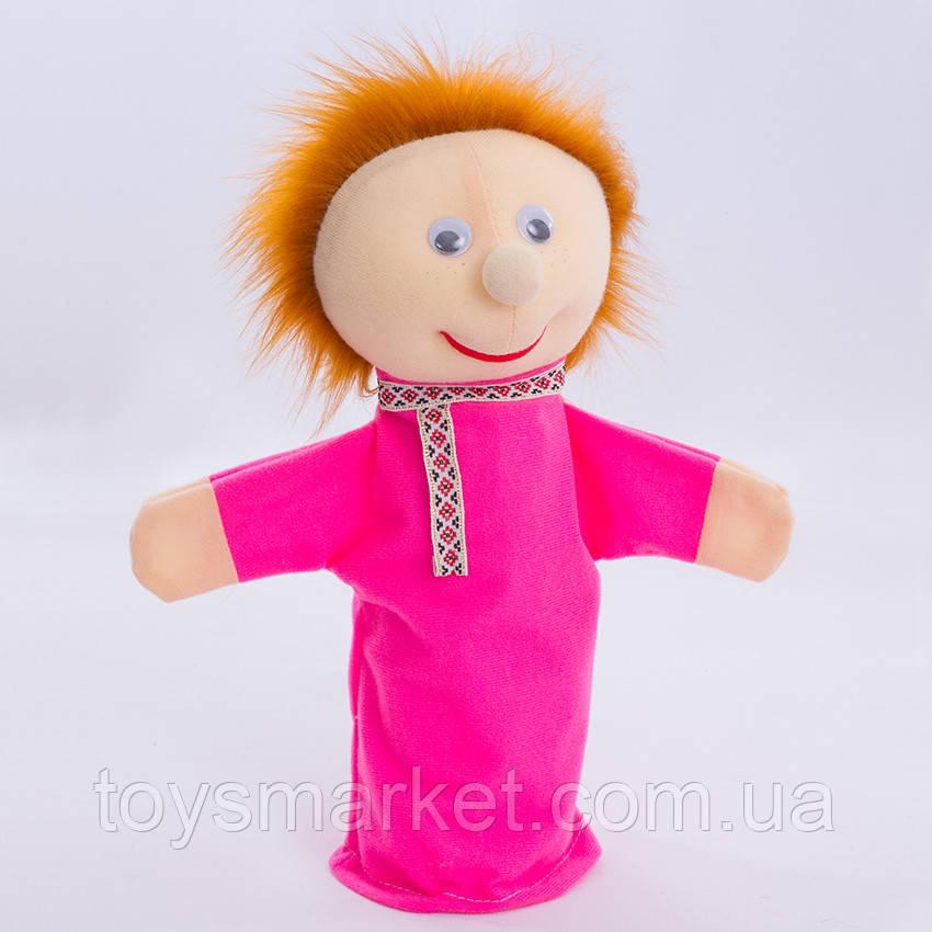 Игрушка рукавичка для кукольного театра Иванушка, кукла перчатка на руку