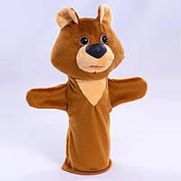Детская мягкая игрушка,рукавичка,Медвежонок
