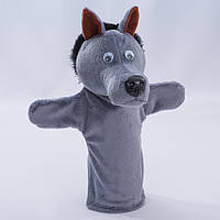 Детская мягкая игрушка,рукавичка,Волк