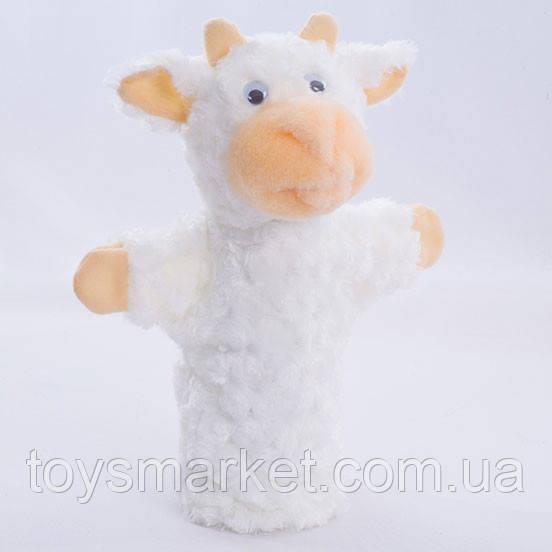 Детская мягкая игрушка,рукавичка,Козленок