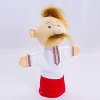 Детская мягкая игрушка,рукавичка,Козак