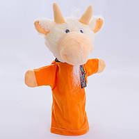 Детская мягкая игрушка,рукавичка,Козлик