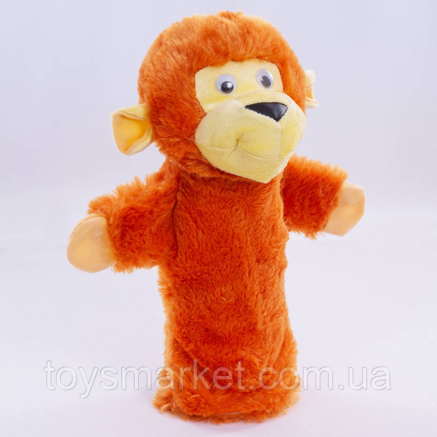 Игрушка рукавичка для кукольного театра Обезьянка, кукла перчатка на руку