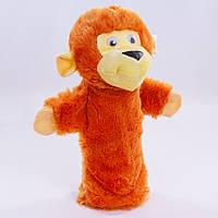 Детская мягкая игрушка,рукавичка,Обезьянка