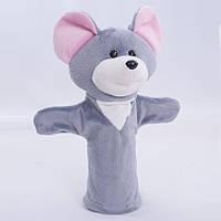 Детская мягкая игрушка,рукавичка,Мышка