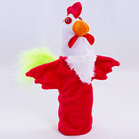 Детская мягкая игрушка,рукавичка,Петушок