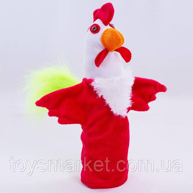 Детская мягкая игрушка,рукавичка,Петушок, фото 1