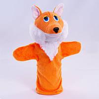 Детская мягкая игрушка,рукавичка,Лисичка