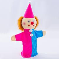 Детская мягкая игрушка,рукавичка.Петрушка