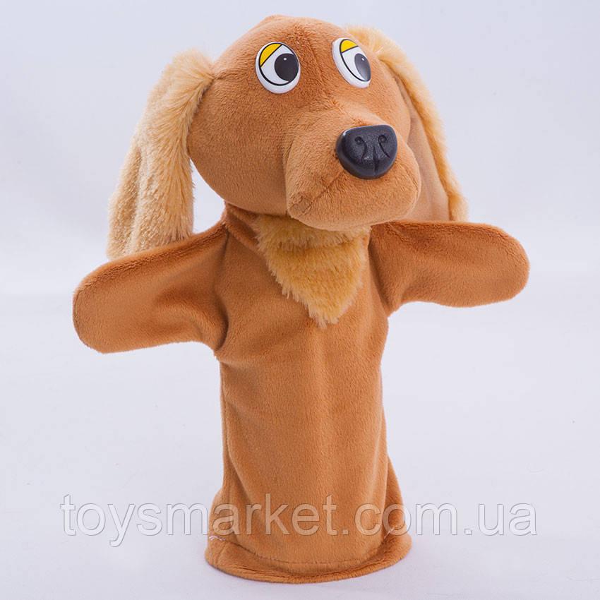 Детская мягкая игрушка,рукавичка,Собачка