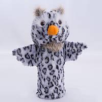 Детская мягкая игрушка,рукавичка,Сова