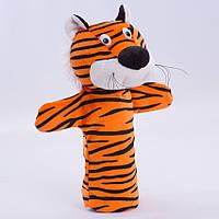 Детская мягкая игрушка,рукавичка,Тигр