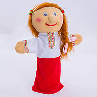 Детская мягкая игрушка.рукавичка,Украинка