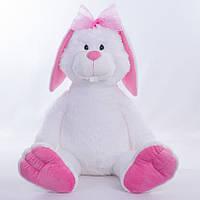 Большая мягкая игрушка,зайчик Праздничный,белый