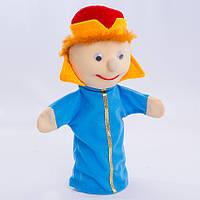 Детская мягкая игрушка,рукавичка,Царевич
