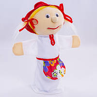 Детская мягкая игрушка,рукавичка,Красная Шапочка