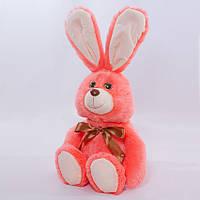 Детская мягкая игрушка,зайчик Бьюти,розовый