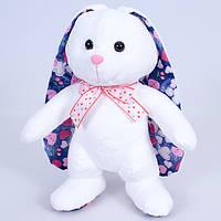Детская мягкая игрушка,зайка Мупси,белая
